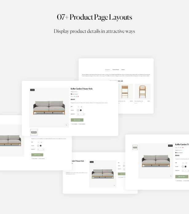 07+ Product Page Layouts Display product details in attractive ways