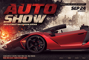 130-Auto-show-flyer