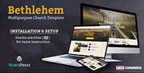 Bethlehem - Church WordPress Theme - 1