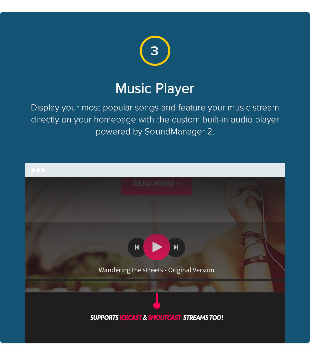 Chords - Music / Artist / Radio WordPress theme - 4