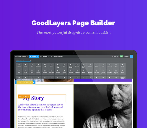 One Page Pro - Multi Purpose OnePage WordPress Theme - 3