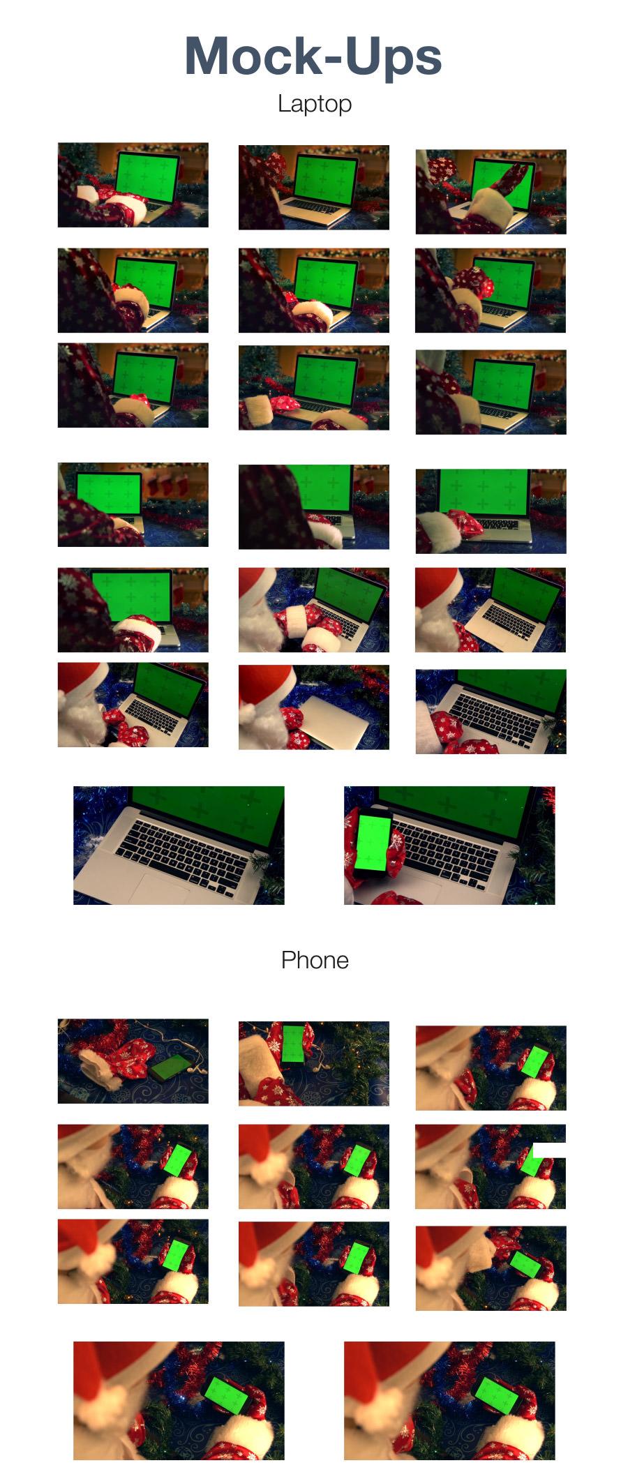 Christmas Mockup Kit - 5