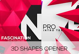 3d shapes opener