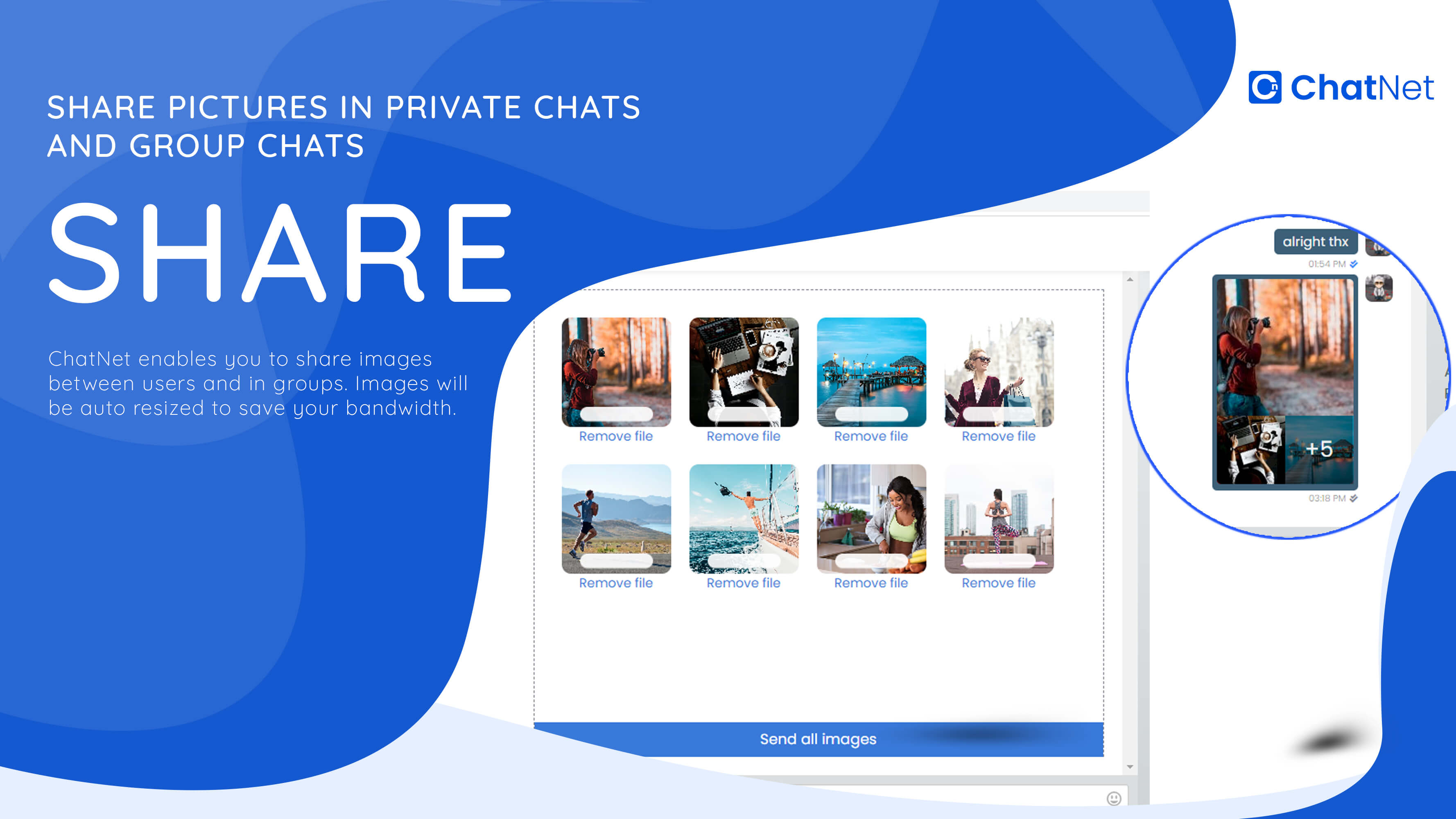 ChatNet - PHP Ajax Chat Room & Private Chat Script - 6