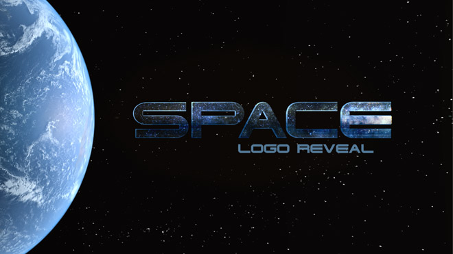 Space Logo Reveal - 2