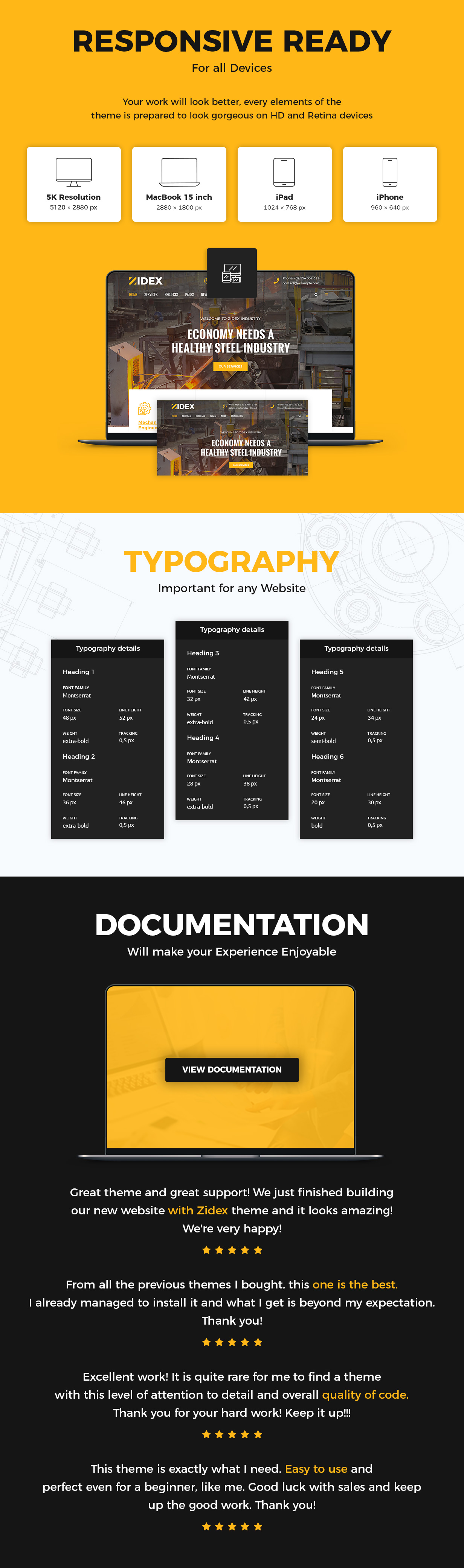 Zidex - Industrial & Factory WordPress Theme - 3