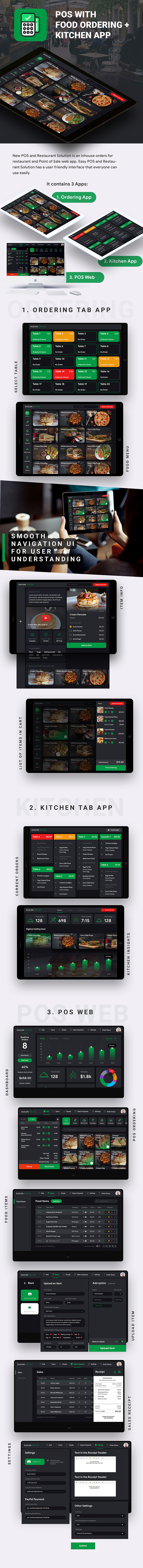 POS with Kitchen & Delivery App Template (HMTL + Css) IONIC 5 - 2