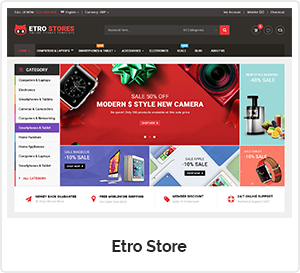Etro Store - Multipurpose Responsive WooCommerce WordPress Theme