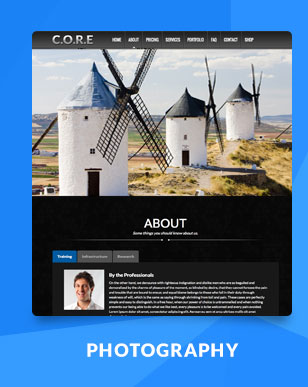 Core One - Multipurpose One Page Theme - 7