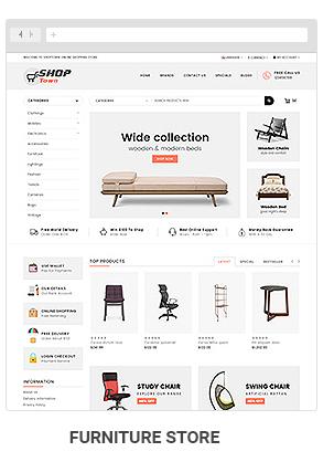 Shop Town - Multipurpose OpenCart 2 & 3 Theme