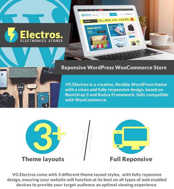 VG Eletros – Tienda de electrónica Tema de WooCommerce – Plantillas ...