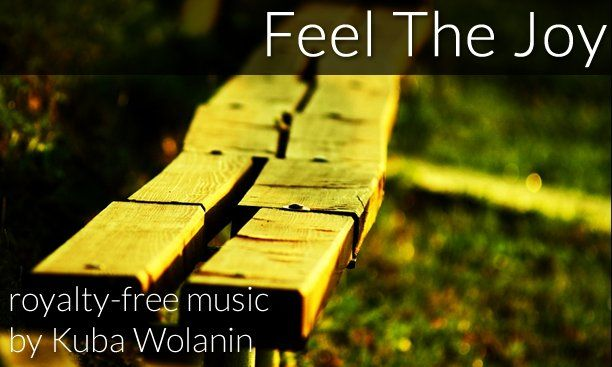 Feel The Joy royalty-free music by Kuba Wolanin