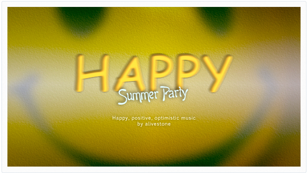happy summer party music