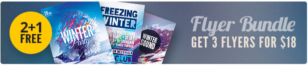 Winter Flyer Bundle Vol.02