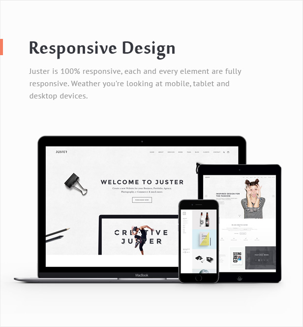 Juster - Multi-Purpose WordPress Theme - 7