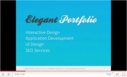 Elegant Portfolio Presentation Template - 1