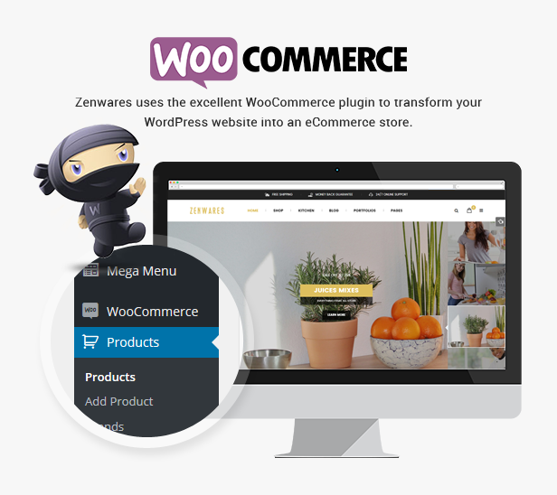Responsive Technology WooCommerce WordPress Theme - Woocommerce
