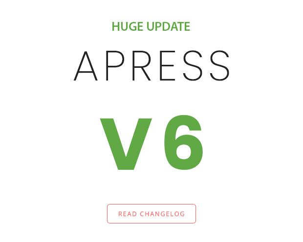Apress v6.0.0 Responsive Multi-Purpose Theme