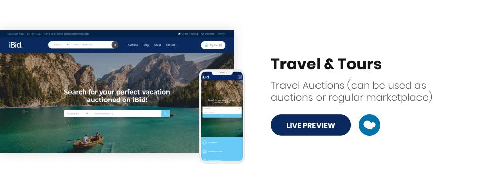 iBid - Multi Vendor Auctions WooCommerce Theme - 16