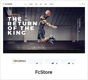 FCStore - Multipurpose WordPress Theme