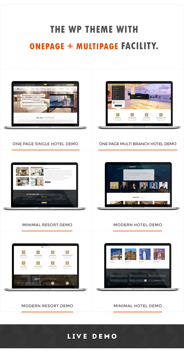 Restinn- Resort and Hotel Booking System WordPress Theme - 2