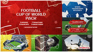 Football (Soccer) Cup of World Pack