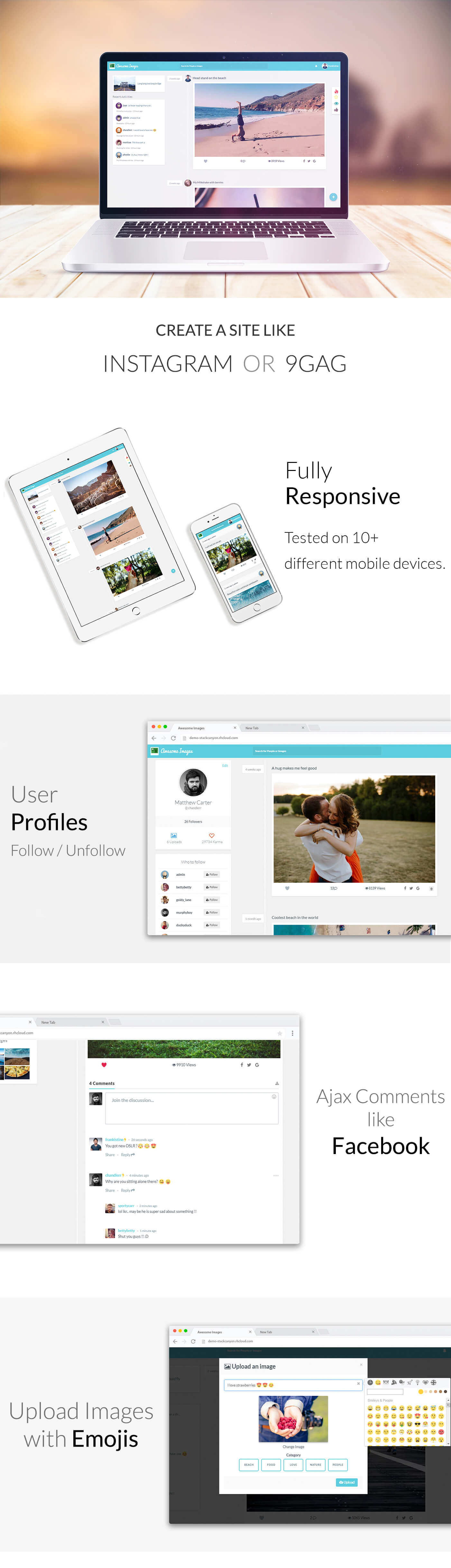 awesome images photo sharing platform supports gifs and social