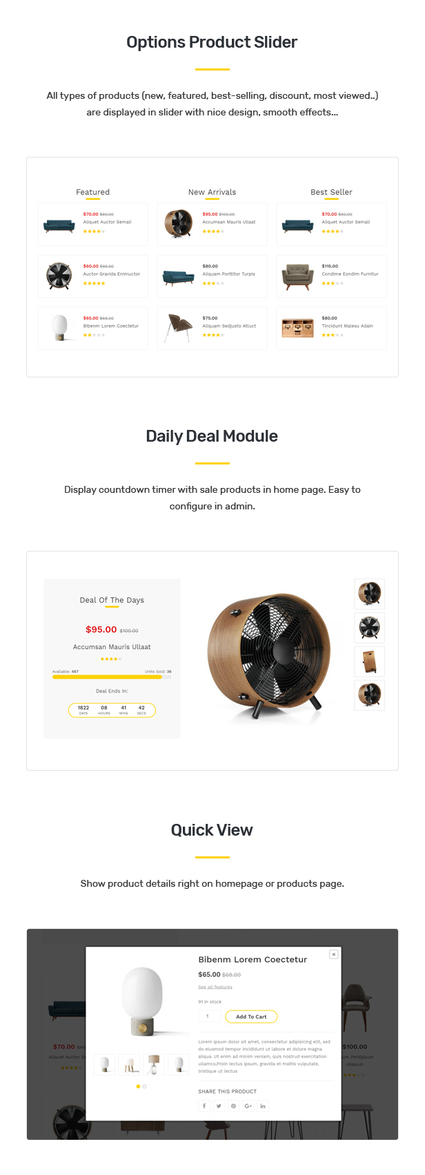 Umino - Furniture & Interior for WooCommerce WordPress 28
