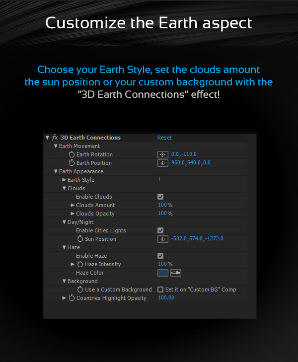 3D Earth Connections - 8
