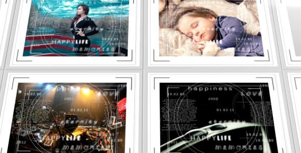 Mosaic Photo Album with Frames - 2