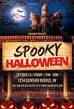 Halloween Flyer - 25