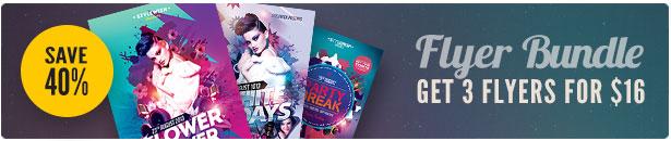 Top Party Flyer Bundle