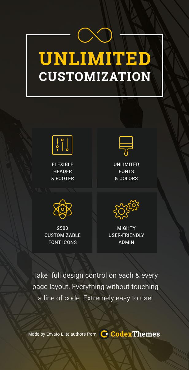 AVXBuilder - Construction Business WordPress Theme - 3