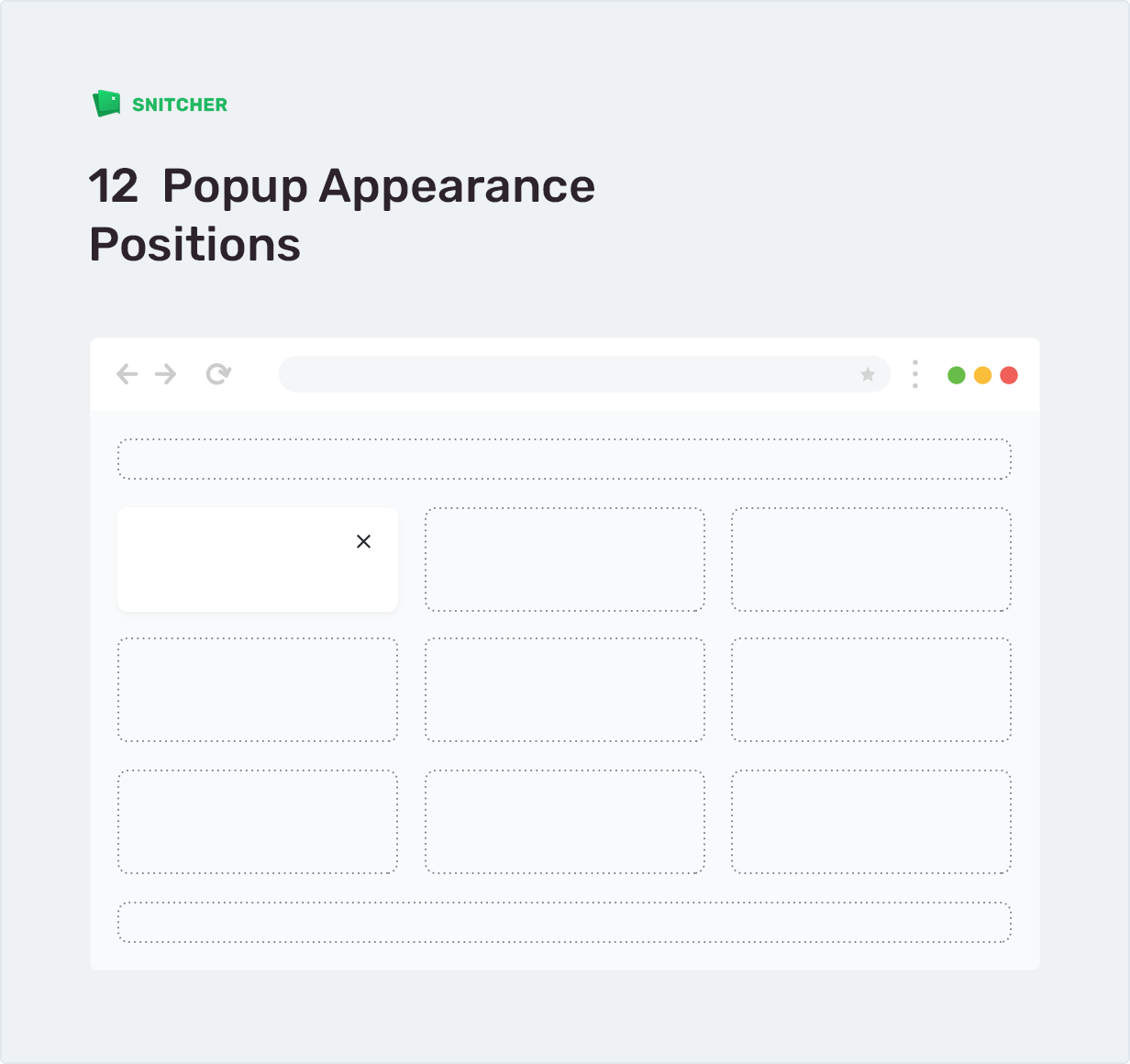 12 Popup Appearance Positions