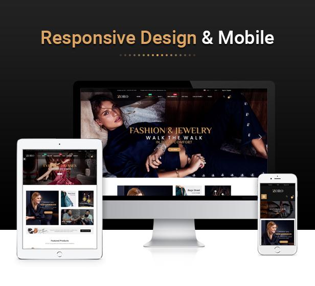 Zoro - Responsive PrestaShop 1.7 Shopping Theme - 2