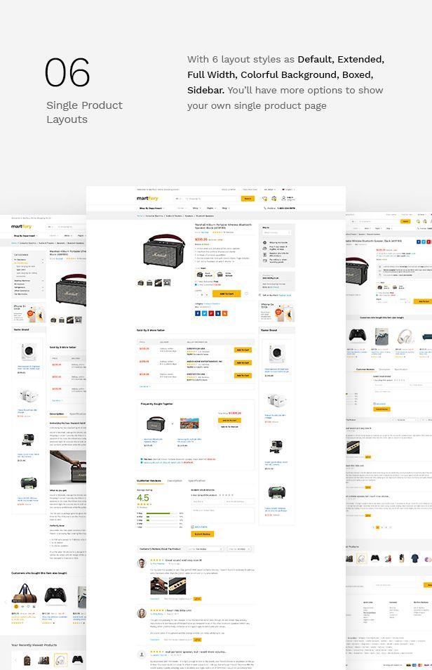 MartFury | Multi-Vendor & Marketplace eCommerce PSD Template - 15