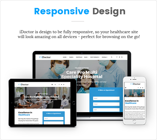 mediPress - Health and Doctor Medical WordPress Theme - 4