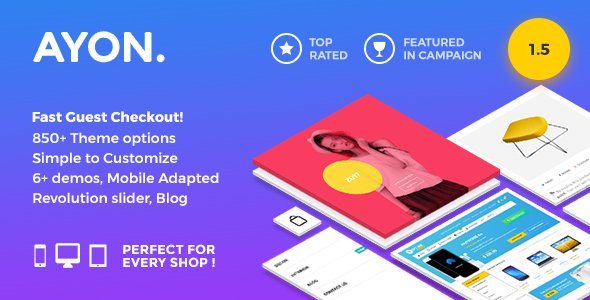 ayon multipurpose prestashop theme