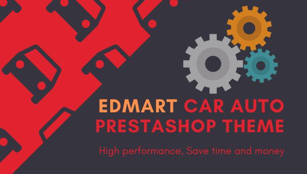 Edmart - Auto Parts &  Cars Store Prestashop Theme