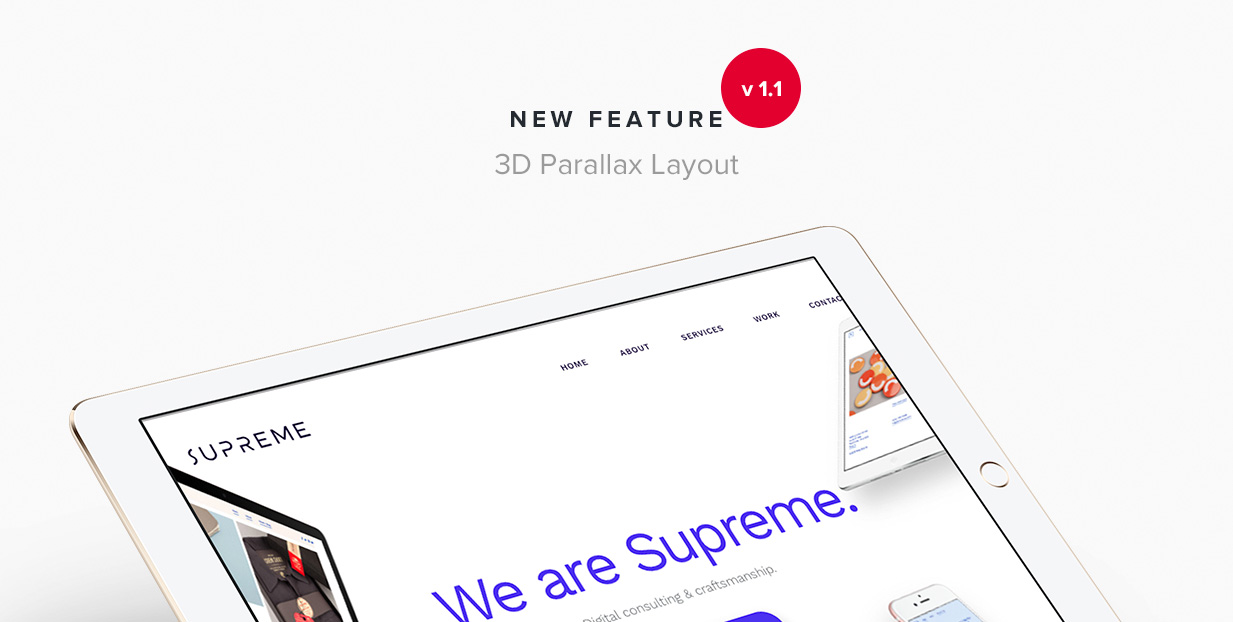 Supreme - Multi-Purpose HTML Template - 9