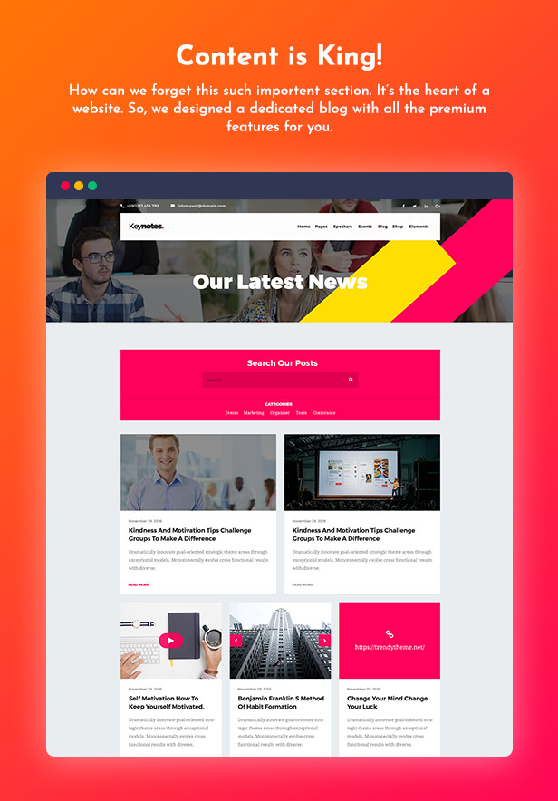 Meetaap - Event & Conference WordPress Theme