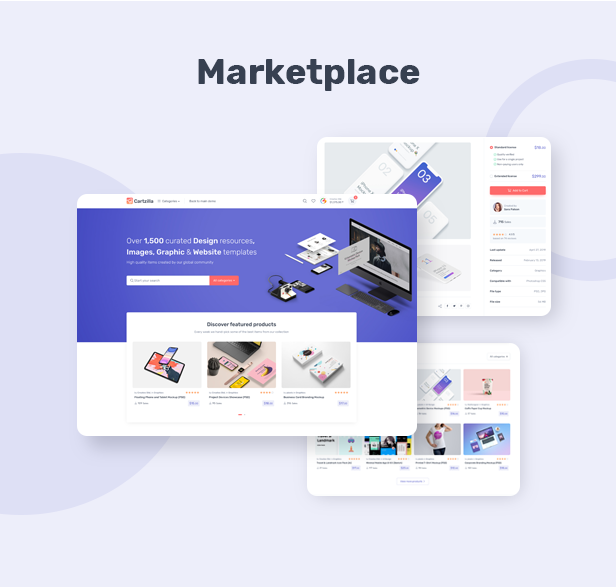 Cartzilla - Digital Marketplace & Grocery Store WordPress Theme - 1