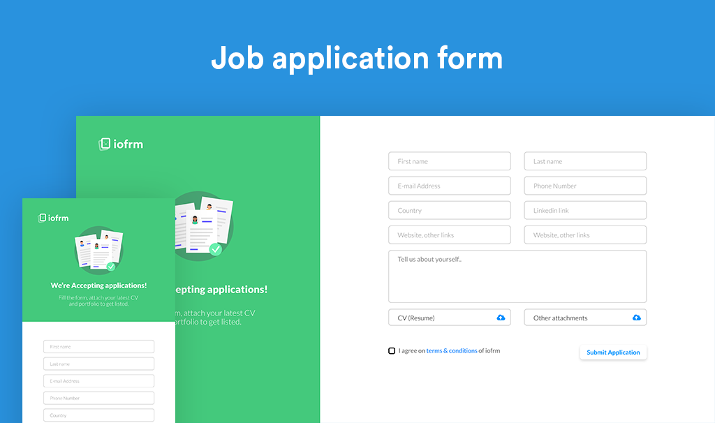 Iofrm - Login and Register Form Templates - 3