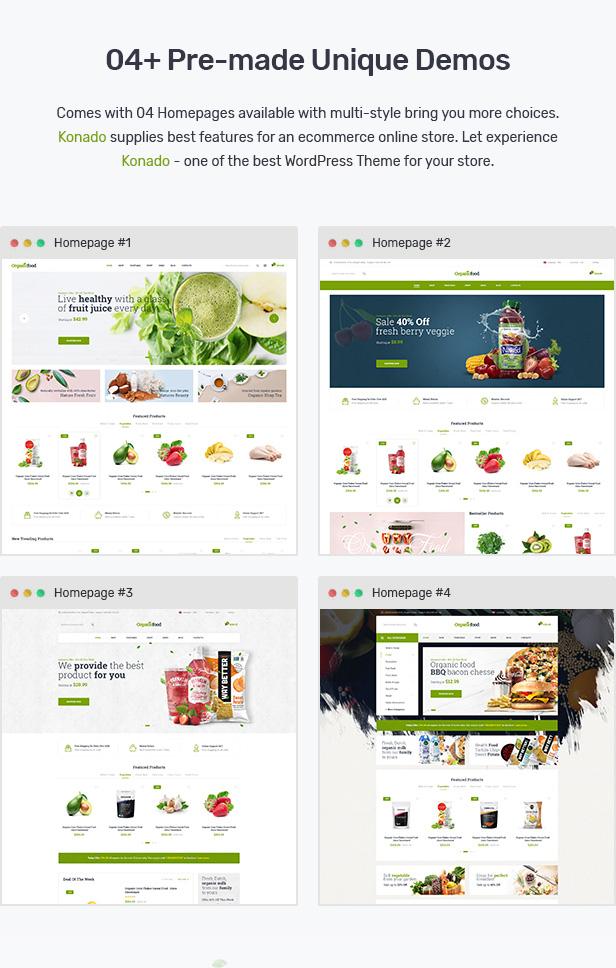 Konado - Organic Theme for WooCommerce WordPress 23