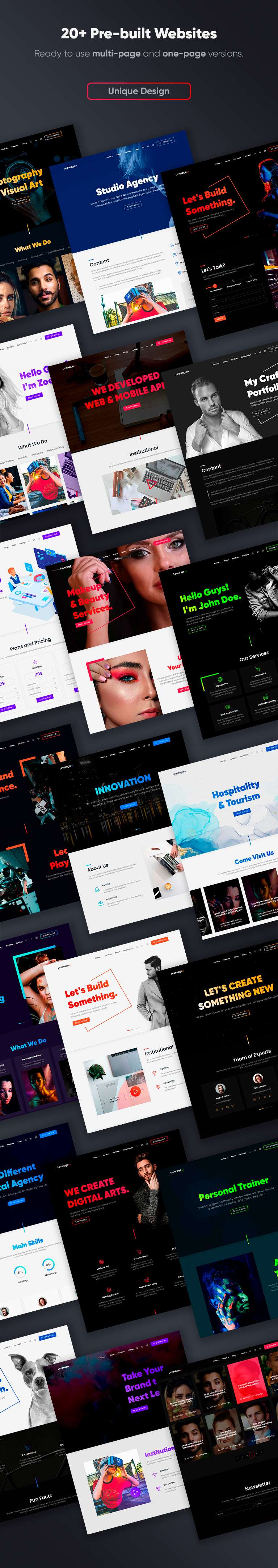 Leverage - Elementor Theme for Agency - 3
