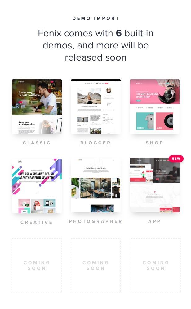 Fenix - Responsive Multi-Purpose WordPress theme - 7