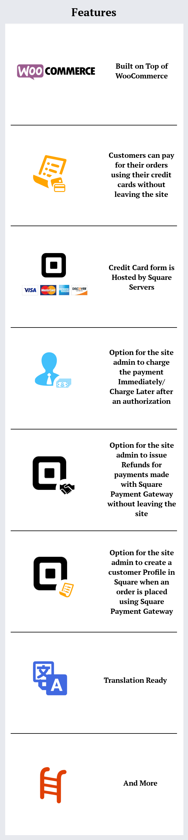WooCommerce Square Payment Gateway - 1