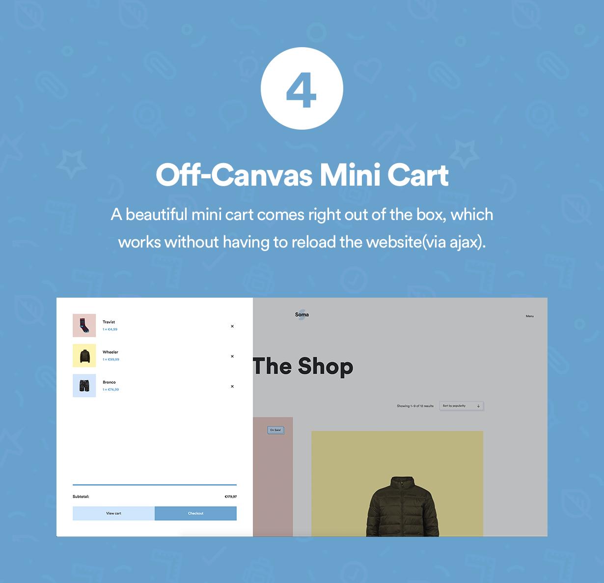 Off-Canvas Minicart