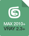 3DS Max 2010/2011/2012/2013+ (VRay 2.3 and higher)