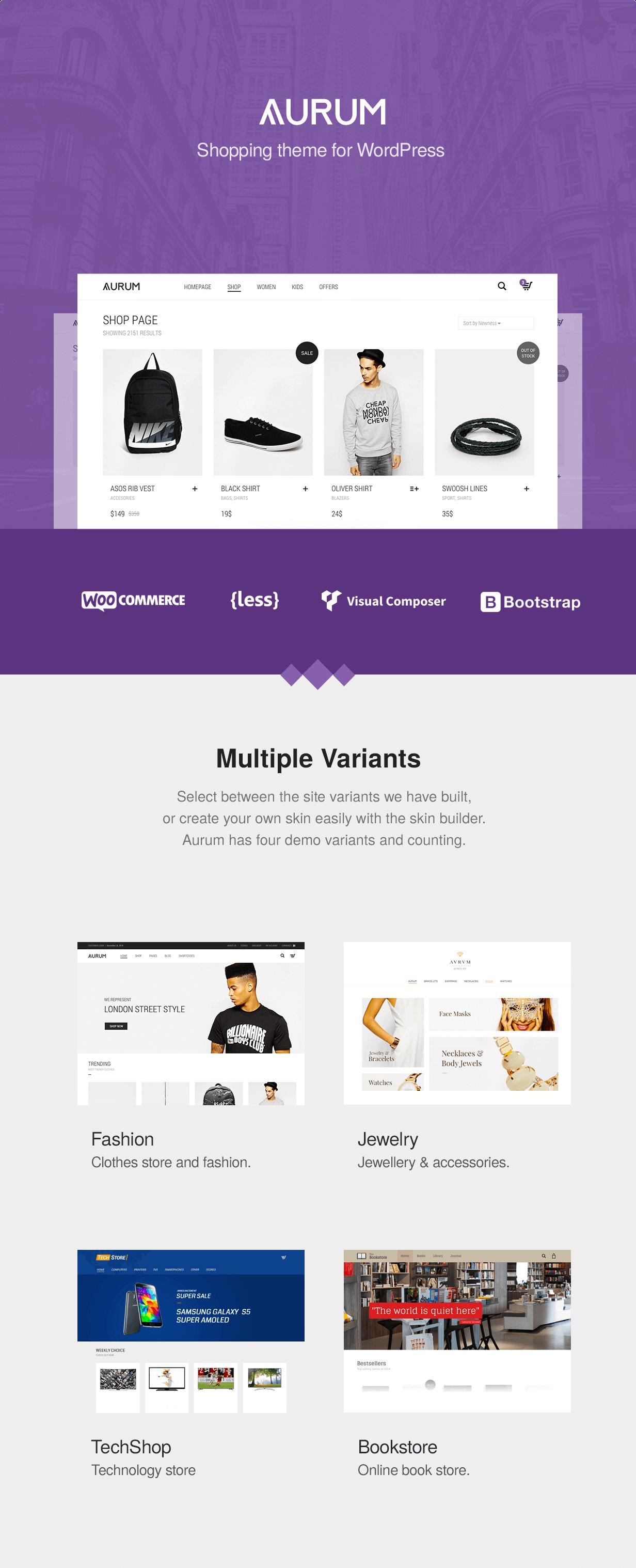 Aurum - Minimalist Shopping Theme - 5